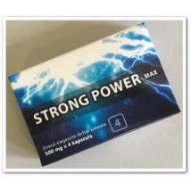STRONG POWER MAX potencianövelő - 4 kapszula
