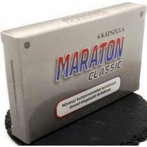 MARATON CLASSIC potencianövelő - 6 kapszula