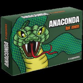 ANACONDA potencianövelő - 4 db kapszula