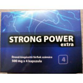 STRONG POWER EXTRA potencianövelő - 4 db kapszula