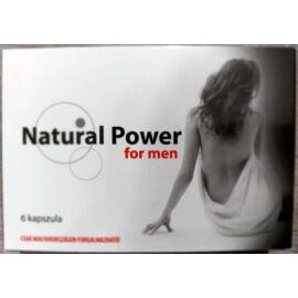 Natural Power extra for men potencianövelő - 6 db kapszula