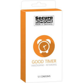 Secura Good Timer óvszer - 12 db