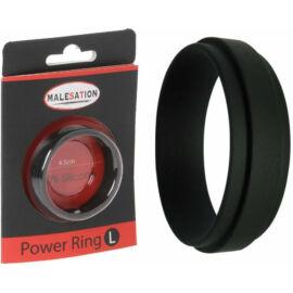 MALESATION Power Ring L (4,5cm) péniszgyűrű