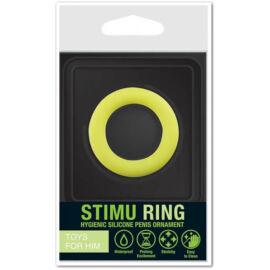Stimu Ring Green péniszgyűrű 37 mm - 1 db