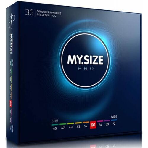 My Size PRO 60 óvszer - 36 db