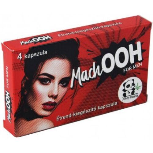 MachOOH potencianövelő - 4 db kapszula