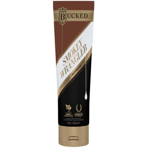 Bucked Smokey Wrangler - maszturbációs intim krém férfiaknak - 120ml