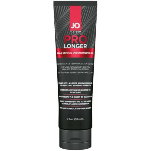System JO ProLonger - orgazmuskésleltető gél férfiaknak - 60ml