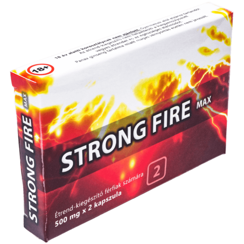 STRONG FIRE MAX - 2 db kapszula