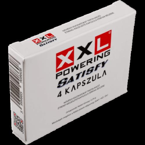 XXL POWERING SATISFY potencianövelő - 4 db kapszula