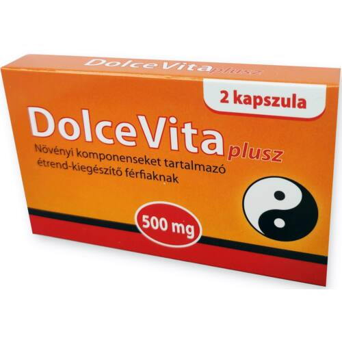 DolceVita Plusz potencianövelő - 2 db kapszula