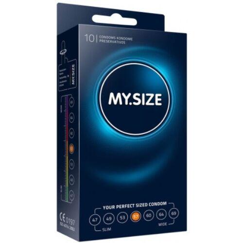 My Size 57 - 10 db óvszer