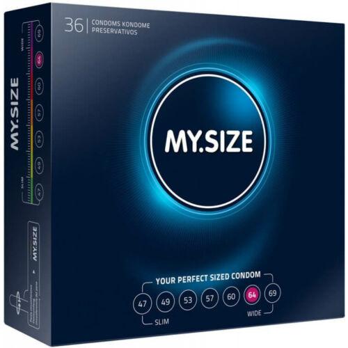My Size 64 óvszer - 36 db