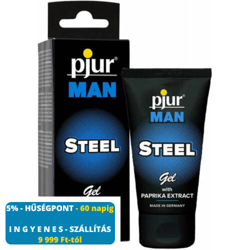 Pjur MAN Steel Gel - 50 ml