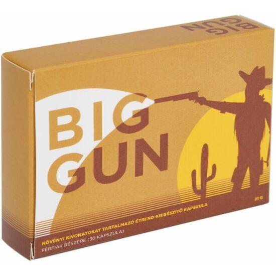 BIG GUN spermanövelő - 30 kapszula