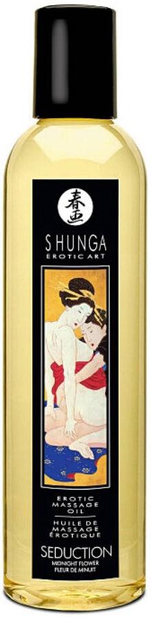 Erotic Massage Oil Midnight Flower - 250 ml